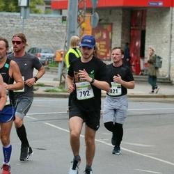 Tallinna Maraton - Charlie Hudson (792), Jevgeni Semjonov (821)