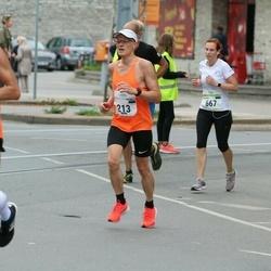 Tallinna Maraton - Ülo Niinemets (213), Maarika Laks (667)