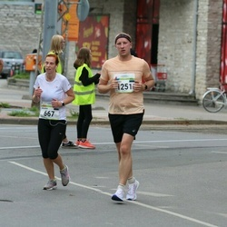 Tallinna Maraton - Maarika Laks (667), Aleksei Tkach (1251)