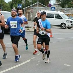 Tallinna Maraton - Mait Kuusalu (2745), Lauri Raba (3086)