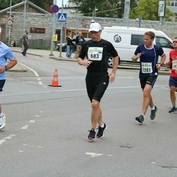 Tallinna Maraton - Andres Suurkuusk (683), Markko Abel (3283)