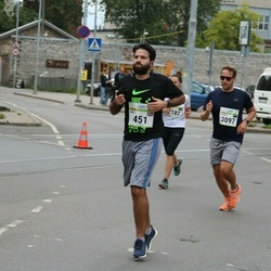 Tallinna Maraton - Jose Fernandes (451), Andres Sampka (3097)