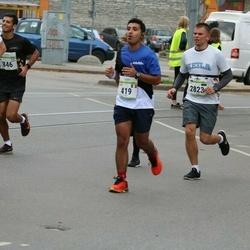 Tallinna Maraton - Adam Dahak (419), Kert Lepikson (2823)