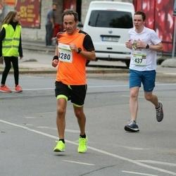 Tallinna Maraton - Andris Rozentalbergs (437), Esa Bergman (3280)