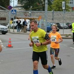 Tallinna Maraton - Eeva Ahotupa (638), Jaanus Keert (1036)