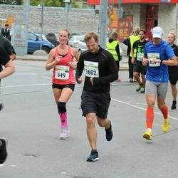 Tallinna Maraton - Anu Maasik (549), Aleksei Ponomarjov (3602)