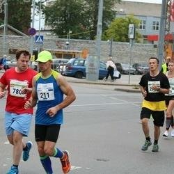 Tallinna Maraton - Emrich Needo (211), Peter Cotton (780)