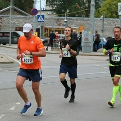 Tallinna Maraton - Arthur Flahaut (454), Mika Lehtinen (887)