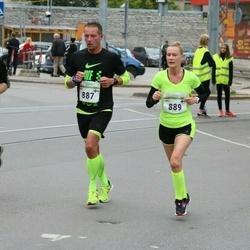 Tallinna Maraton - Mika Lehtinen (887), Linda Rinne (889)