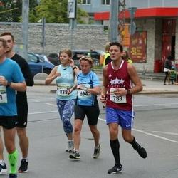 Tallinna Maraton - Marja Reilimo (694), Mihails Basmanovs (783)