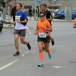 Tallinna Maraton - Jane Griffin (1201), Marija Obuchovic (1507)
