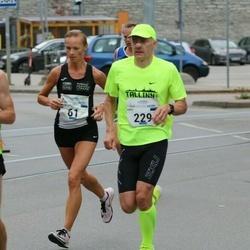 Tallinna Maraton - Anne-Ly Palm (61), Anti Toplaan (229)