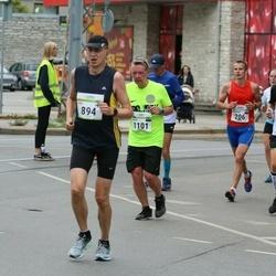 Tallinna Maraton - Alexander Mashkov (206), Silver Nuga (222), Jyrki Virtanen (894), Valdur Laid (1101)