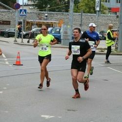 Tallinna Maraton - Kristine Noodla (816), Valentina Nesterova (1665)