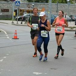 Tallinna Maraton - Stina Metsis (843), Kristo Proosväli (3214)