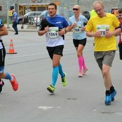 Tallinna Maraton - Annika Oja (708), Marko Käis (1069), Aimar Aru (3485)