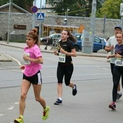 Tallinna Maraton - Dorien Schipper (1033), Margareth Olde (3533)