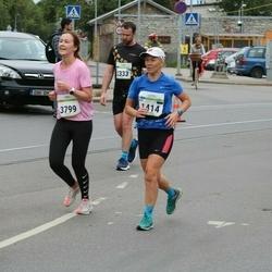 Tallinna Maraton - Eve Jaeski (1414), Anna-Liisa Sesmin (3799)