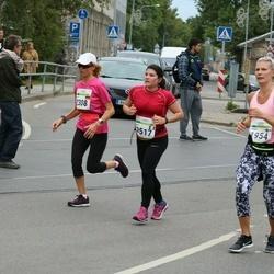 Tallinna Maraton - Annika Kurittu (1954), Alla Lemke (2308), Anais Arnout (2517)