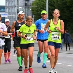 Tallinna Maraton - Charlotte Minchell (861), Shona George (1956)