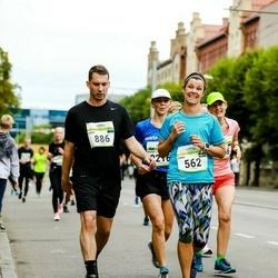 Tallinna Maraton - Anna Korsvik (562), Louis Biasin (886)