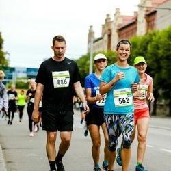 Tallinna Maraton - Anna Korsvik (562), Louis Biasin (886), Kaisa Heinla (2216)