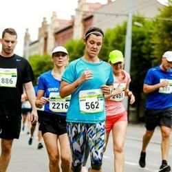 Tallinna Maraton - Anna Korsvik (562), Kaisa Heinla (2216)