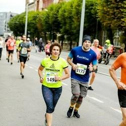 Tallinna Maraton - Anita Dubery (1498), Pavel Dvoinos (3173)
