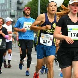 Tallinna Maraton - Wan Liu (684), Anni-Maria Kauppila (2831)
