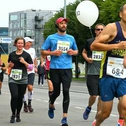 Tallinna Maraton - Anni-Maria Kauppila (2831), Ilkka Lähtinen (2832), Mark Kljusev (3554)