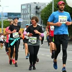 Tallinna Maraton - Sara Sundman (1633), Anni-Maria Kauppila (2831), Mark Kljusev (3554)