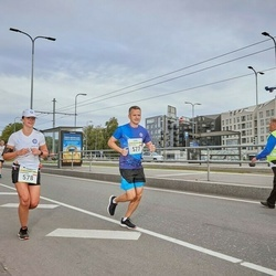 Tallinna Maraton - Krzysztof Marcinek (577), Agnieszka Gustaw (578)