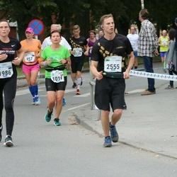 Tallinna Maraton - Anna Lipka (1016), Kristi Vainura (1986), Jorma Liivalaid (2555)
