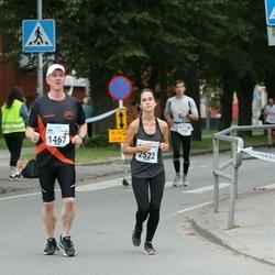 Tallinna Maraton - Martti Syrjäniemi (1467), Birgitti Pilvet (2522)
