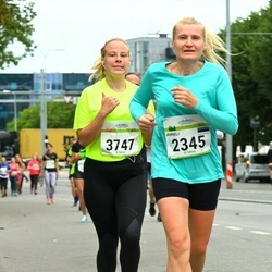 Tallinna Maraton - Anneli Peegel (2345), Birgit Saliste (3747)
