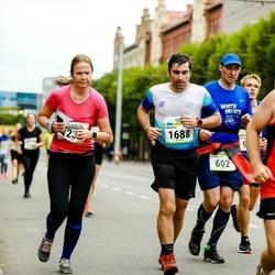 Tallinna Maraton - Stanislav Gavrilov (602), Anastasia Petrenko (1238), Frederic Merelle (1688)
