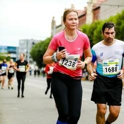 Tallinna Maraton - Anastasia Petrenko (1238), Frederic Merelle (1688)