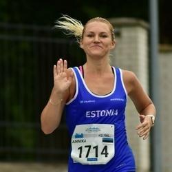 Tallinna Maraton - Annika Veisson (1714)