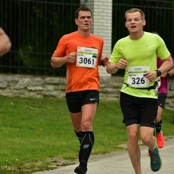 Tallinna Maraton - Alexander Shagov (326), Kaitis Kõllamets (3061)