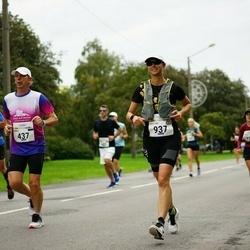 Tallinna Maraton - Urmas Kokk (437), Caroline Underwood (937)
