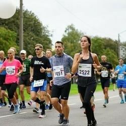 Tallinna Maraton - Pavel Fošum (1051), Birgitti Pilvet (2522)
