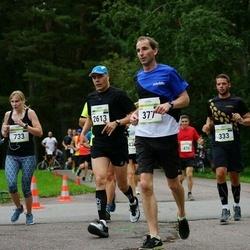 Tallinna Maraton - Rene Mustasaar (377), Annika Rand (733), Argo Heinmaa (2613)
