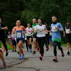 Tallinna Maraton - Sigrid Boukes (593), Artem Priadkin (1806), Olga Kim (1807), Laura Rannala (3447)