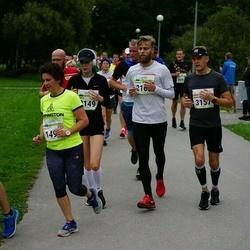Tallinna Maraton - Joosep Ahun (1278), Anita Dubery (1498), Toomas Kelo (2166)