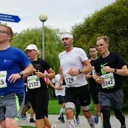 Tallinna Maraton - Meelis Rink (176), Age Kala (2132), Vesa Leppälä (2342)
