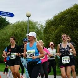 Tallinna Maraton - Kersti Tirmaste (1927), Agita Solzemniece (2070), Kaili Tamm (2305)
