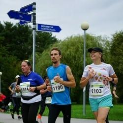 Tallinna Maraton - Kristian Nõmmik (1100), Ann Õun (1914), Liis Kaup (2103)
