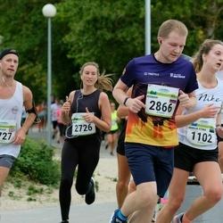 Tallinna Maraton - Marja Stina Saaliste (1102), Abby Gottermeyer (2726), Roman Eshtokin (2866)