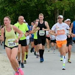 Tallinna Maraton - Rait Mererand (180), Anita Fišere (2919), Raul Ratas-Pähnapuu (3386)