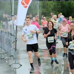 Tallinna Maraton - Sille Kukkur (2027), Anastassia Zagorulko (2197), Marko Karm (2220), Aet Kull (3360)